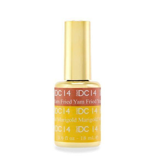 DND - DC Mood Change Gel - Yam Fried Marigold 0.5 oz - #14-Beyond Polish