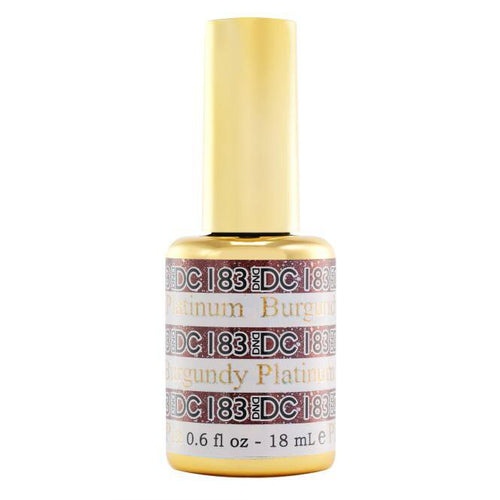 DND - DC Platinum Collection - Burgundy 0.5 oz - #183-Beyond Polish