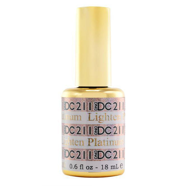 DND - DC Platinum Collection - Lighten 0.5 oz - #211-Beyond Polish