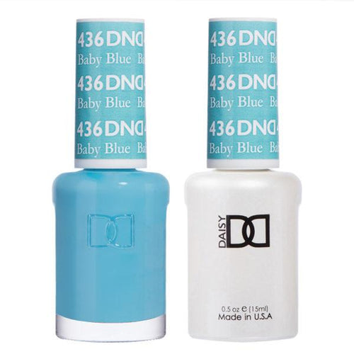 DND - Gel & Lacquer - Baby Blue - #436-Beyond Polish