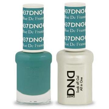 DND - Gel & Lacquer - Blue De France - #437-Beyond Polish
