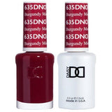 DND - Gel & Lacquer - Burgundy Mist - #635-Beyond Polish