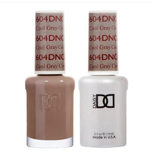 DND - Gel & Lacquer - Cool Gray - #604-Beyond Polish
