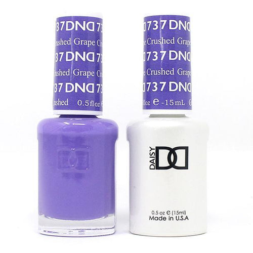 DND - Gel & Lacquer - Crushed Grape - #737-Beyond Polish