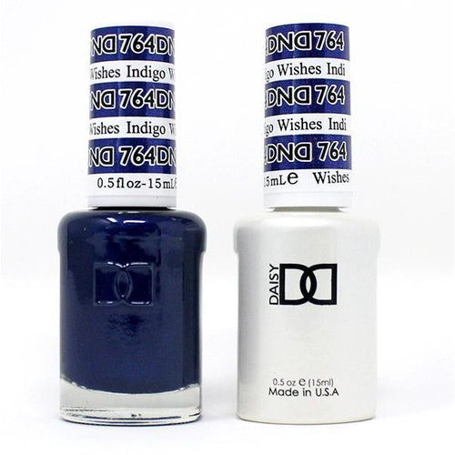 DND - Gel & Lacquer - Indigo Wishes - #764-Beyond Polish