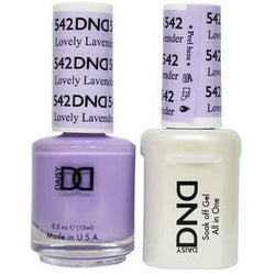 DND - Gel & Lacquer - Lovely Lavender - #542-Beyond Polish