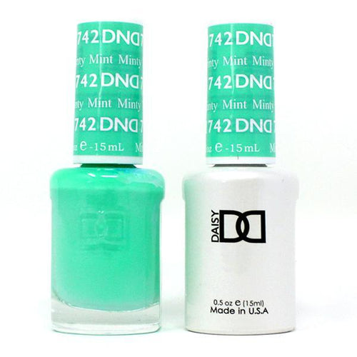 DND - Gel & Lacquer - Minty Mint - #742-Beyond Polish
