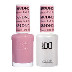 DND - Gel & Lacquer - Princess Pink - #589-Beyond Polish