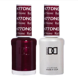 DND - Gel & Lacquer - Red Stone - #477-Beyond Polish