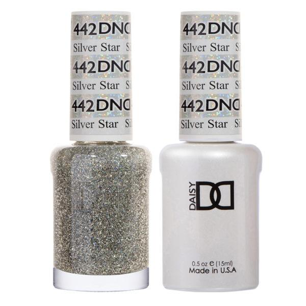 DND - Gel & Lacquer - Silver Star - #442-Beyond Polish