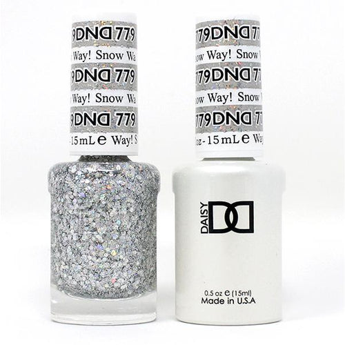 DND - Gel & Lacquer - Snow Way! - #779-Beyond Polish