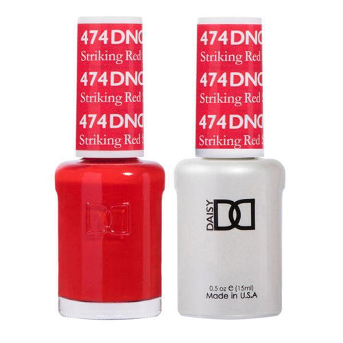 DND - Gel & Lacquer - Striking Red - #474-Beyond Polish