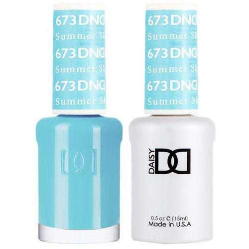 DND - Gel & Lacquer - Summer Sky - #673-Beyond Polish