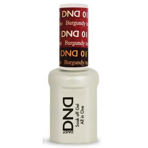 DND - Mood Change Gel - Burgundy to Red Wine 0.5 oz - #D01-Beyond Polish