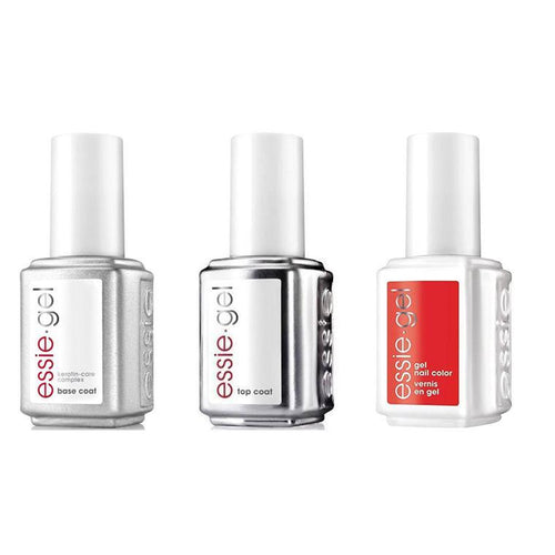 Essie Combo - Gel, Base & Top - Hiking Heels 0.5 oz - #992G-Beyond Polish