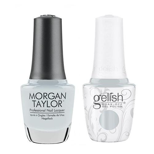 Gelish & Morgan Taylor Combo - In the Clouds