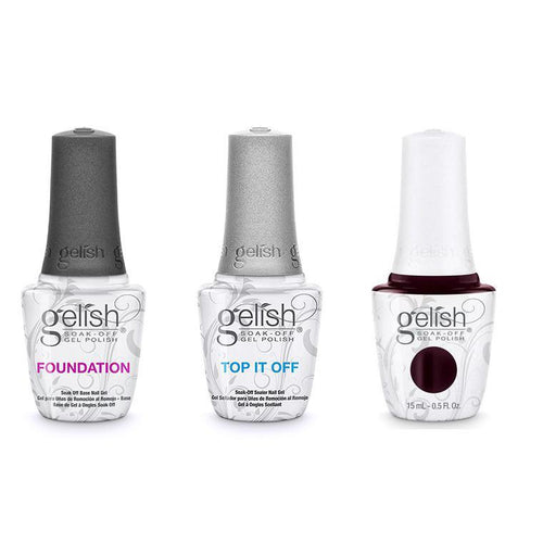 Harmony Gelish Combo - Base, Top & A Little Naughty-Beyond Polish