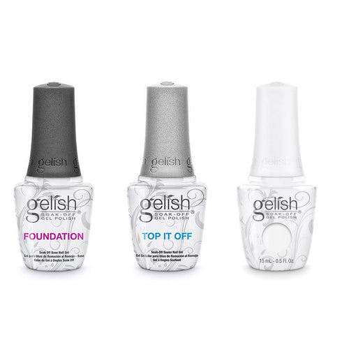 Harmony Gelish Combo - Base, Top & Artic Freeze-Beyond Polish