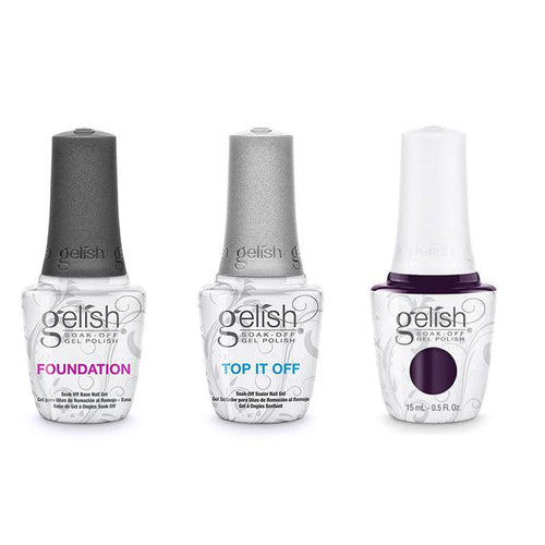 Harmony Gelish Combo - Base, Top & Cocktail Party Drama-Beyond Polish