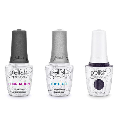 Harmony Gelish Combo - Base, Top & Girl Meets Joy-Beyond Polish