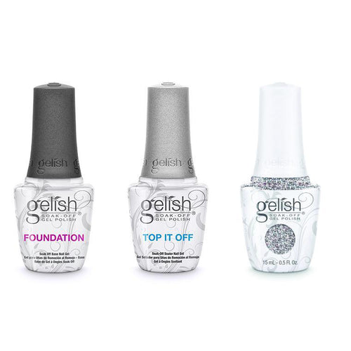 Harmony Gelish Combo - Base, Top & Girls' Night Out-Beyond Polish