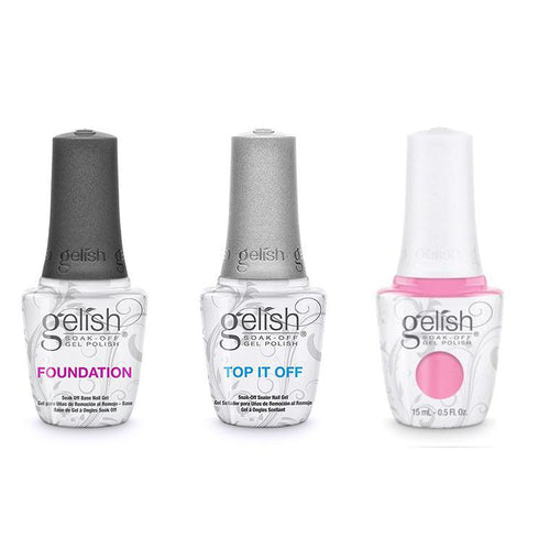 Harmony Gelish Combo - Base, Top & Go Girl-Beyond Polish