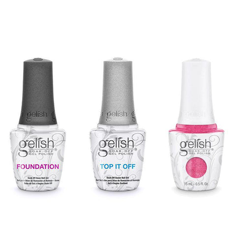 Harmony Gelish Combo - Base, Top & High Bridge-Beyond Polish