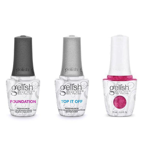 Harmony Gelish Combo - Base, Top & High Voltage-Beyond Polish