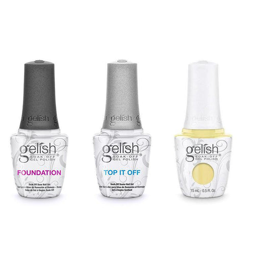 Harmony Gelish Combo - Base, Top & Let Down Your Hair-Beyond Polish