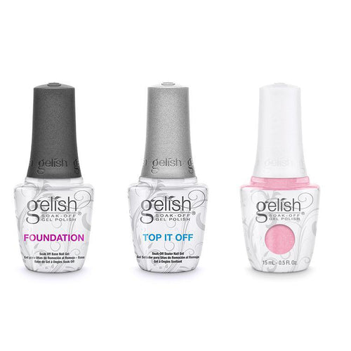 Harmony Gelish Combo - Base, Top & Light Elegant-Beyond Polish