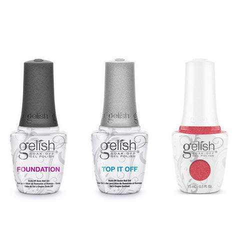 Harmony Gelish Combo - Base, Top & Me Myself-ie And I-Beyond Polish