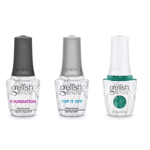 Harmony Gelish Combo - Base, Top & Mint Icing-Beyond Polish