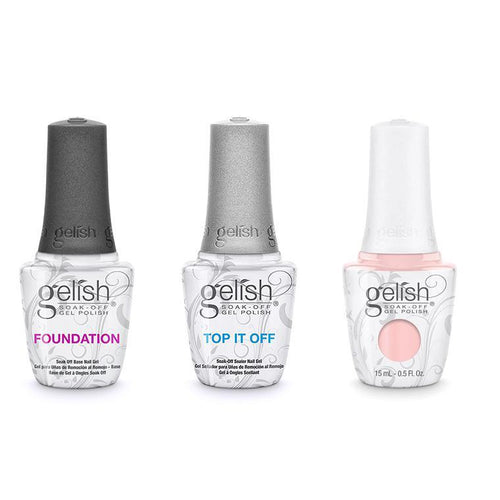 Harmony Gelish Combo - Base, Top & Once Upon A Mani-Beyond Polish