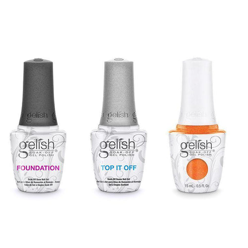 Harmony Gelish Combo - Base, Top & Orange Cream Dream-Beyond Polish
