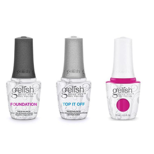 Harmony Gelish Combo - Base, Top & Pop-arazzi Pose-Beyond Polish