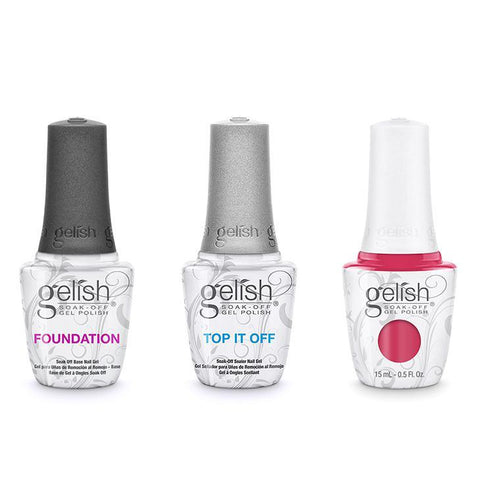 Harmony Gelish Combo - Base, Top & Prettier In Pink-Beyond Polish