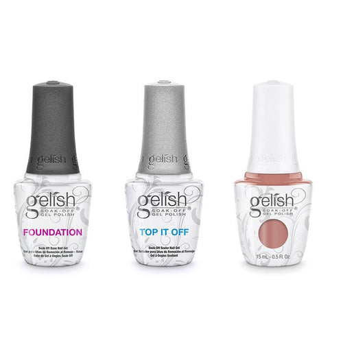 Harmony Gelish Combo - Base, Top & She's My Beauty-Beyond Polish