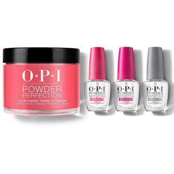 OPI - Dip Powder Combo - Liquid Set & Big Apple Red-Beyond Polish