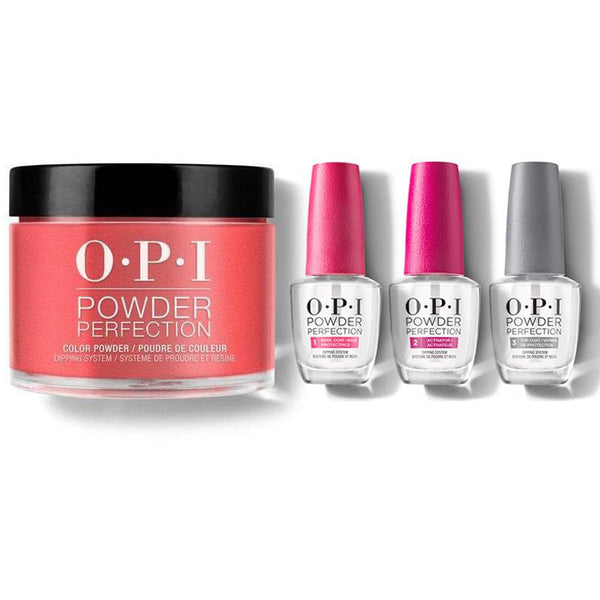 OPI - Dip Powder Combo - Liquid Set & Cajun Shrimp-Beyond Polish