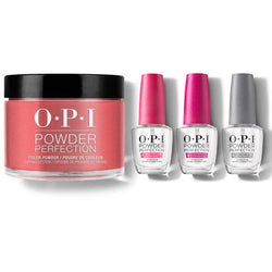 OPI - Dip Powder Combo - Liquid Set & Color So Hot It Berns-Beyond Polish