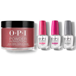 OPI - Dip Powder Combo - Liquid Set Got The Blues For Red-Beyond Polish