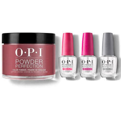 OPI - Dip Powder Combo - Liquid Set & Malaga Wine-Beyond Polish