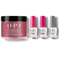 OPI - Dip Powder Combo - Liquid Set & Miami Beet-Beyond Polish