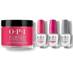 OPI - Dip Powder Combo - Liquid Set & Red Heads Ahead-Beyond Polish