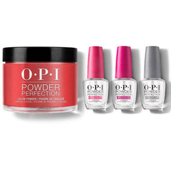 OPI - Dip Powder Combo - Liquid Set & The Thrill of Brazil-Beyond Polish