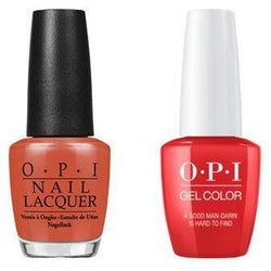 OPI - Gel & Lacquer Combo - A Good Man-darin is Hard to Find-Beyond Polish