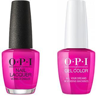 OPI - Gel & Lacquer Combo - All Your Dreams in Vending Machines-Beyond Polish