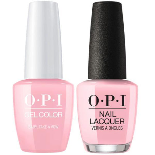 OPI - Gel & Lacquer Combo - Baby, Take a Vow-Beyond Polish