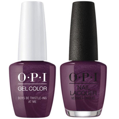 OPI - Gel & Lacquer Combo - Boys Be Thistle-ing At Me-Beyond Polish