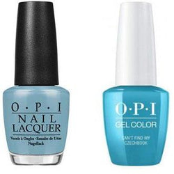 OPI - Gel & Lacquer Combo - Can't Find My Czechbook-Beyond Polish